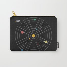 Planetary Maze Carry-All Pouch