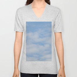 TEXTURES: Just Clouds #1 Unisex V-Neck