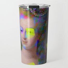 Iridescent Queen Travel Mug