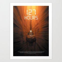 127 Hours Art Print