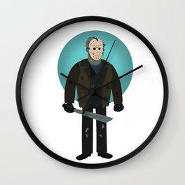 Jason Voorhees (Freddy vs Jason style) Wall Clock