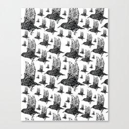 Flock of Starlings / Murmuration Canvas Print