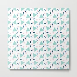 Geometric Design 4 Metal Print