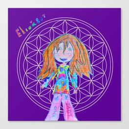 Elisavet | Flower of Life Canvas Print