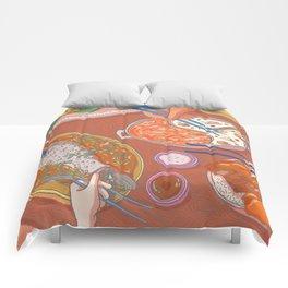 An Asian Feast Comforters