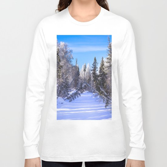 Frozen river Long Sleeve T-shirt