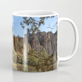 Cool Formations of Smith Rock in Morning Light Coffee Mug