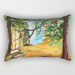 Woodland Beauty Rectangular Pillow
