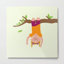 Positively Girly - tree Metal Print