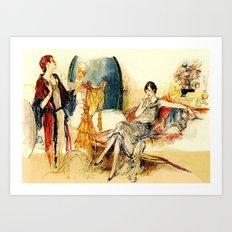 Ladies of Leisure Art Print