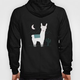 Alpaca In The Mountains Hoody