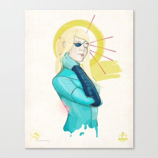 (Sam)us Aran Paulsen Canvas Print