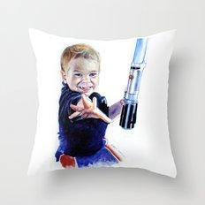 Young Jedi Rowan Throw Pillow