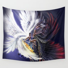 Poles Apart Wall Tapestry