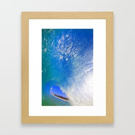 Hawaii Keiki Shorebreak Framed Art Print