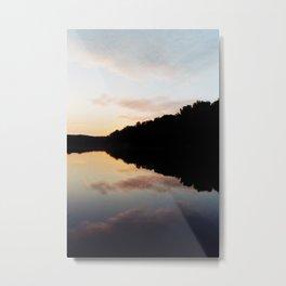 Mirrored landscape Metal Print