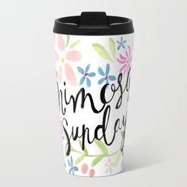 Mimosa Sunday Travel Mug
