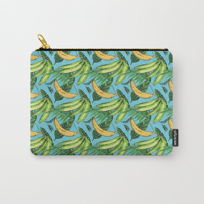 Plantain Paradise Pattern - For true plantain fans Carry-All Pouch
