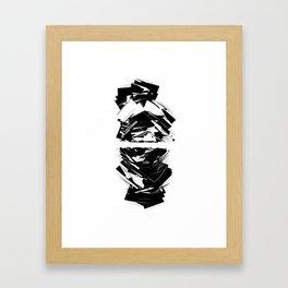 albedo Framed Art Print