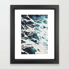 Dark Sea Framed Art Print