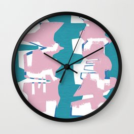 Abstract building Wall Clock