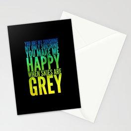 Sunshine rainbow Stationery Cards