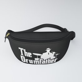 The Drumfather Funny Gift For Drummer design Fanny Pack