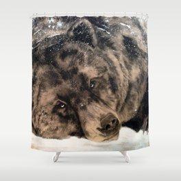 The Griz Shower Curtain