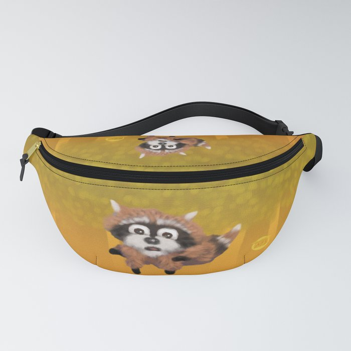 Raccoon Series: Running Scared Fanny Pack