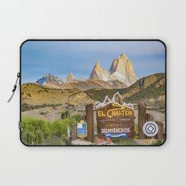 El Chalten Town Entrance, Patagonia - Argentina Laptop Sleeve