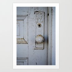 Farmhouse Door Art Print