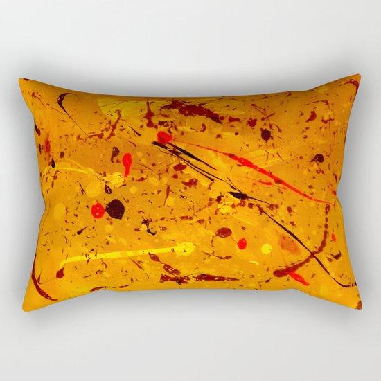 Abstract #2 - Embers Rectangular Pillow