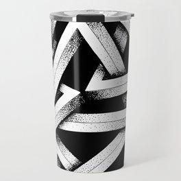 Impossible Penrose Triangles Travel Mug