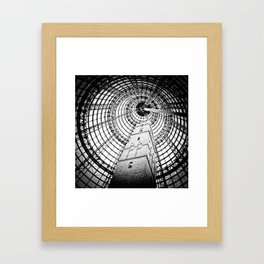 Shot Tower Framed Art Print