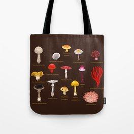 Inedible mushrooms Tote Bag