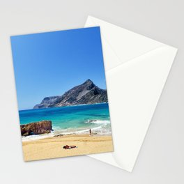 Sunny beach on Porto Santo (RR 276) Stationery Cards