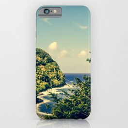 Honomanu Highway to Heaven Road to Hana Maui Hawaii iPhone Case