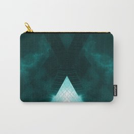 Turquoise skyscraper mill V WH Carry-All Pouch