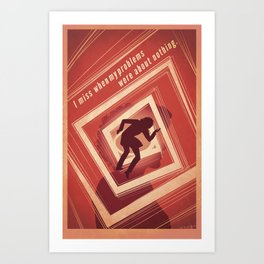 TBS Search Party: Vertigo Art Print