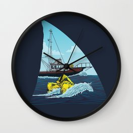 Jaws: The Orca Wall Clock