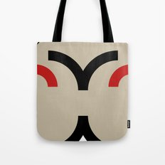 face 8 Tote Bag