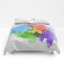 Be Awesome Comforters