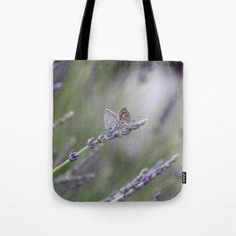 Lavender Butterflies - JUSTART © Tote Bag
