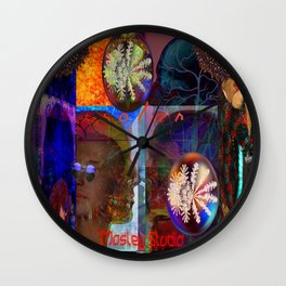 Seven7 Creation Wall Clock