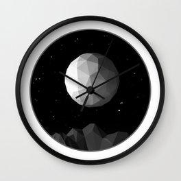 GeoMoon Wall Clock
