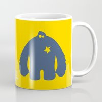 bigfoot Mugs featuring Bigfoot Logo by Grizzly Good