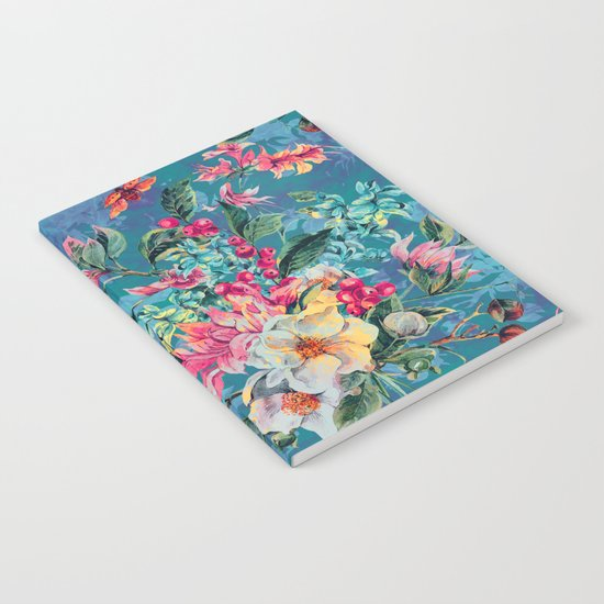 Floral Ocean III Notebook