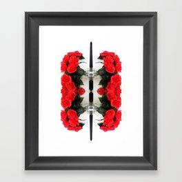 Summer Red Skulls 2012 Framed Art Print