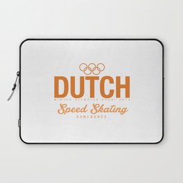 Dutch - Speed Skating Laptop Sleeve