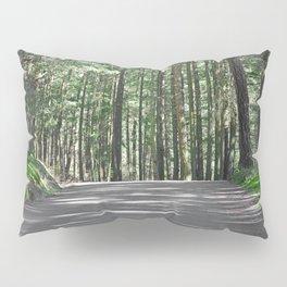 WOODLAND ROAD OF DOUGLAS FIR FOREST Pillow Sham